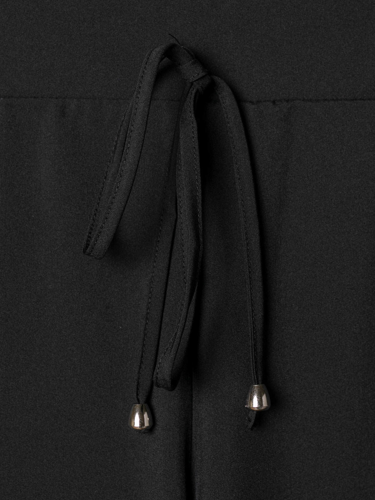 Pantalón mujer confort liso Negro