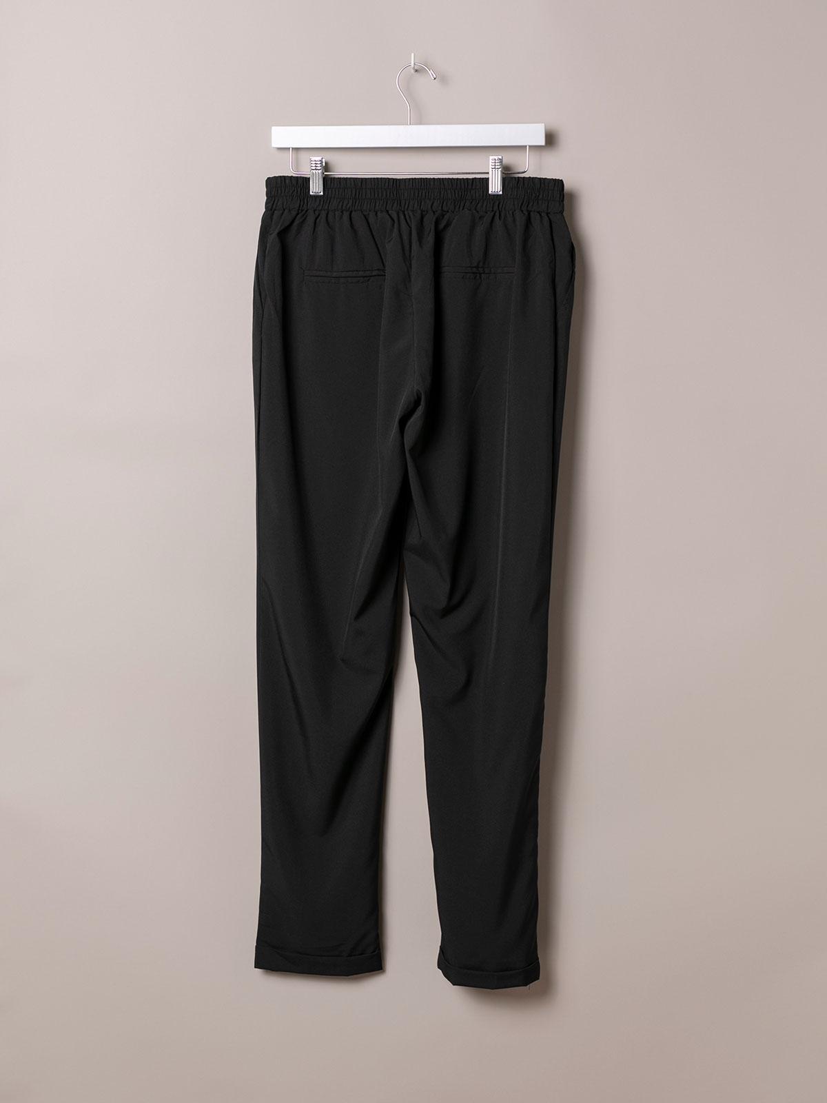 Woman Woman Plain comfort trousers Black
