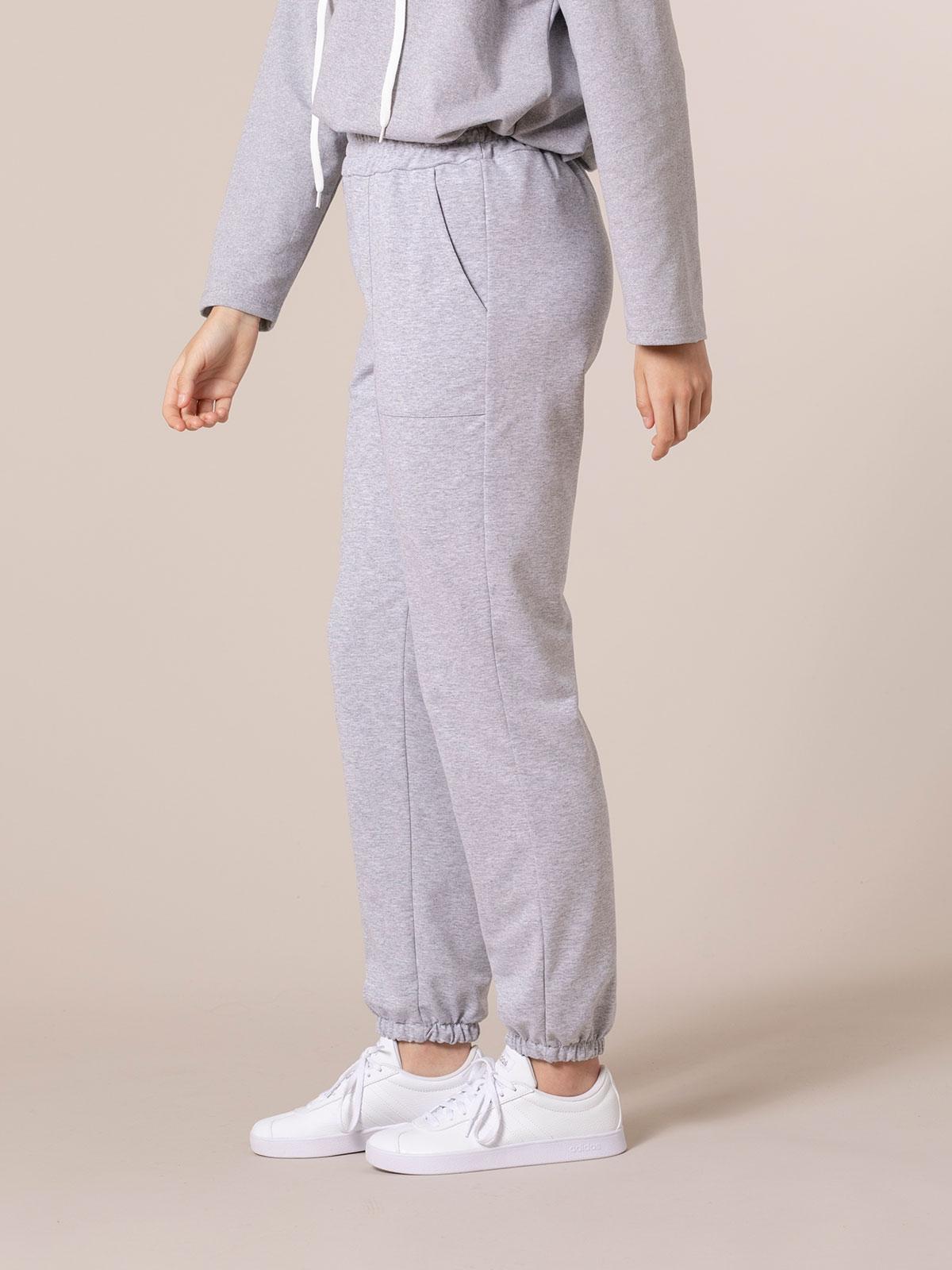 Woman Sport pants athleisure line Grey
