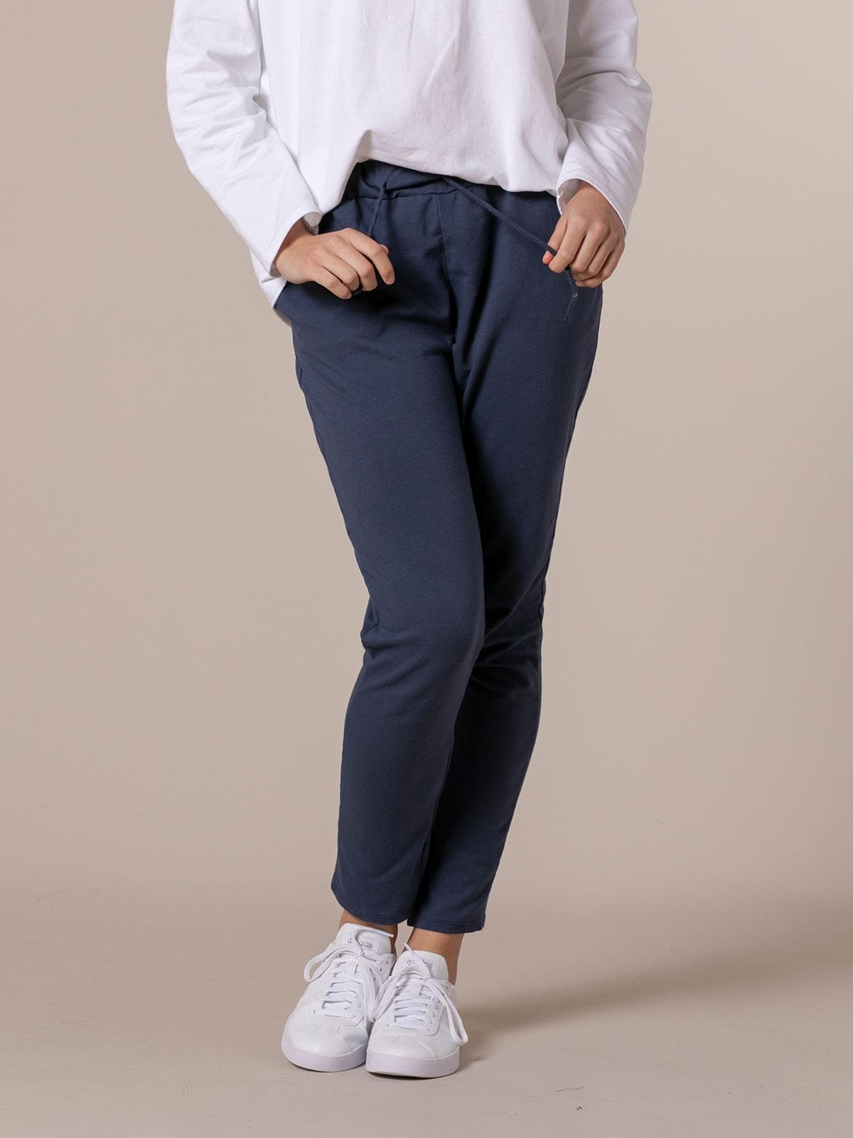 Woman Plush sport trousers Blue Navy