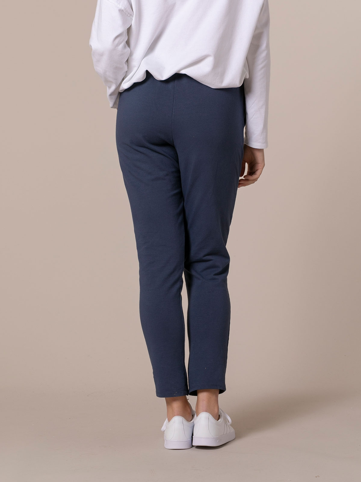 Pantalón mujer sport felpa Azul Marino