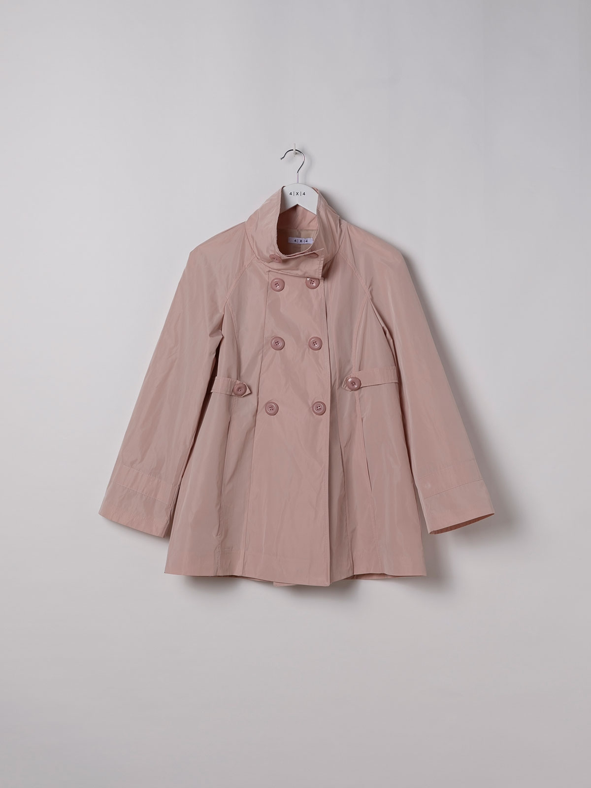 Parka mujer impermeable especial Rosa