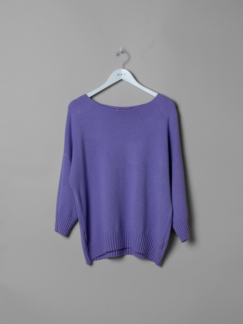 Woman Oversized soft knit sweater Lila