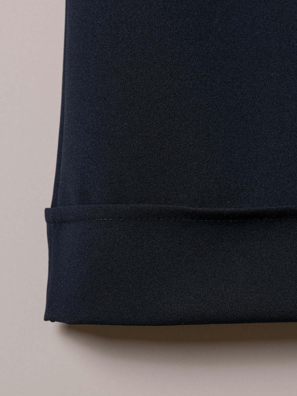 Pantalón mujer culotte tiro alto Azul Marino