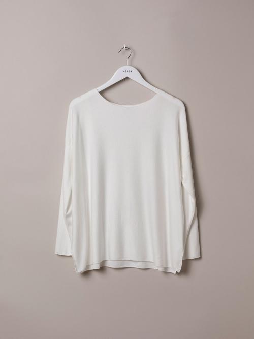 Camiseta mujer punto ligero Blanco