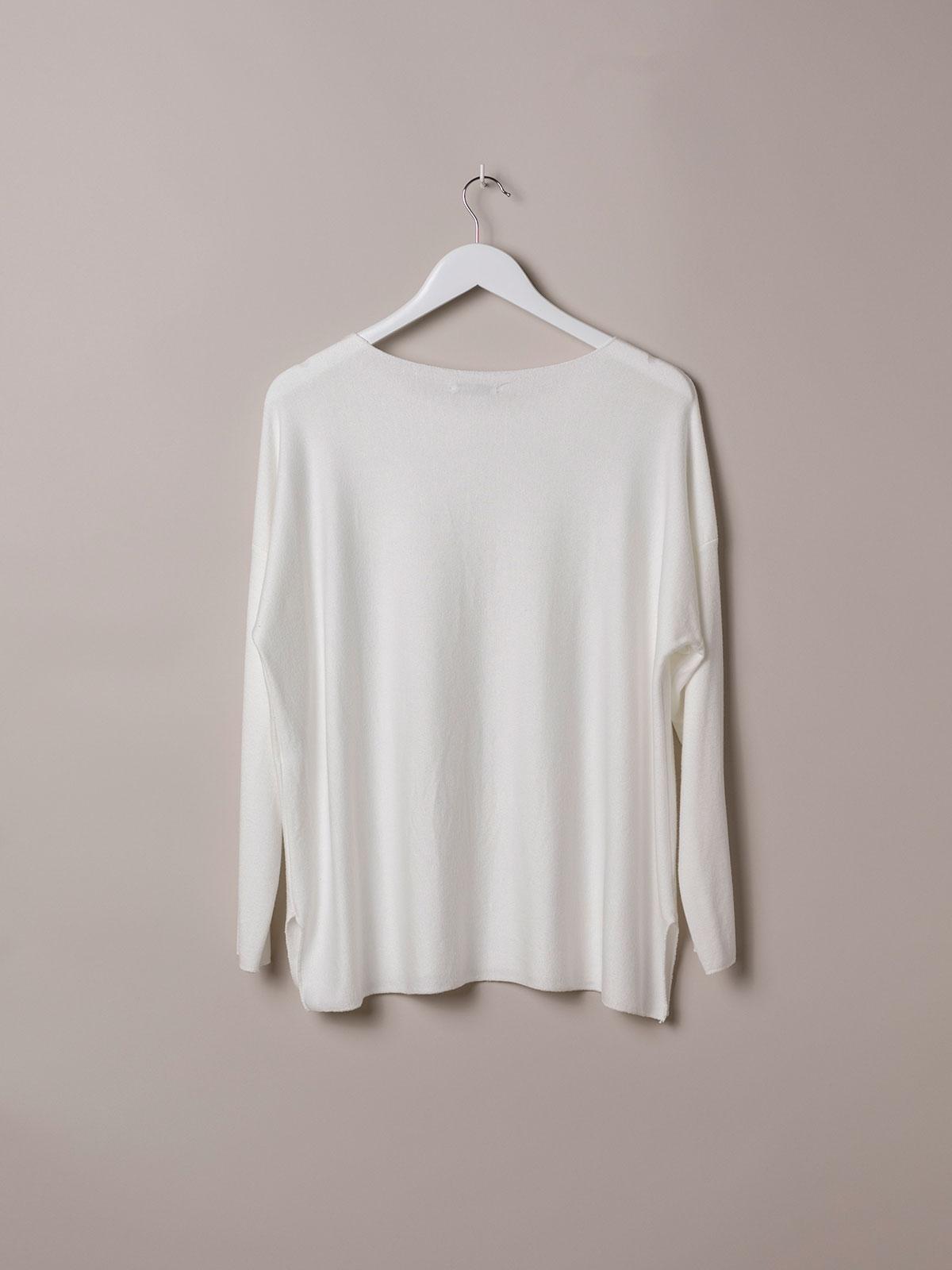 Woman Light knit T-shirt White