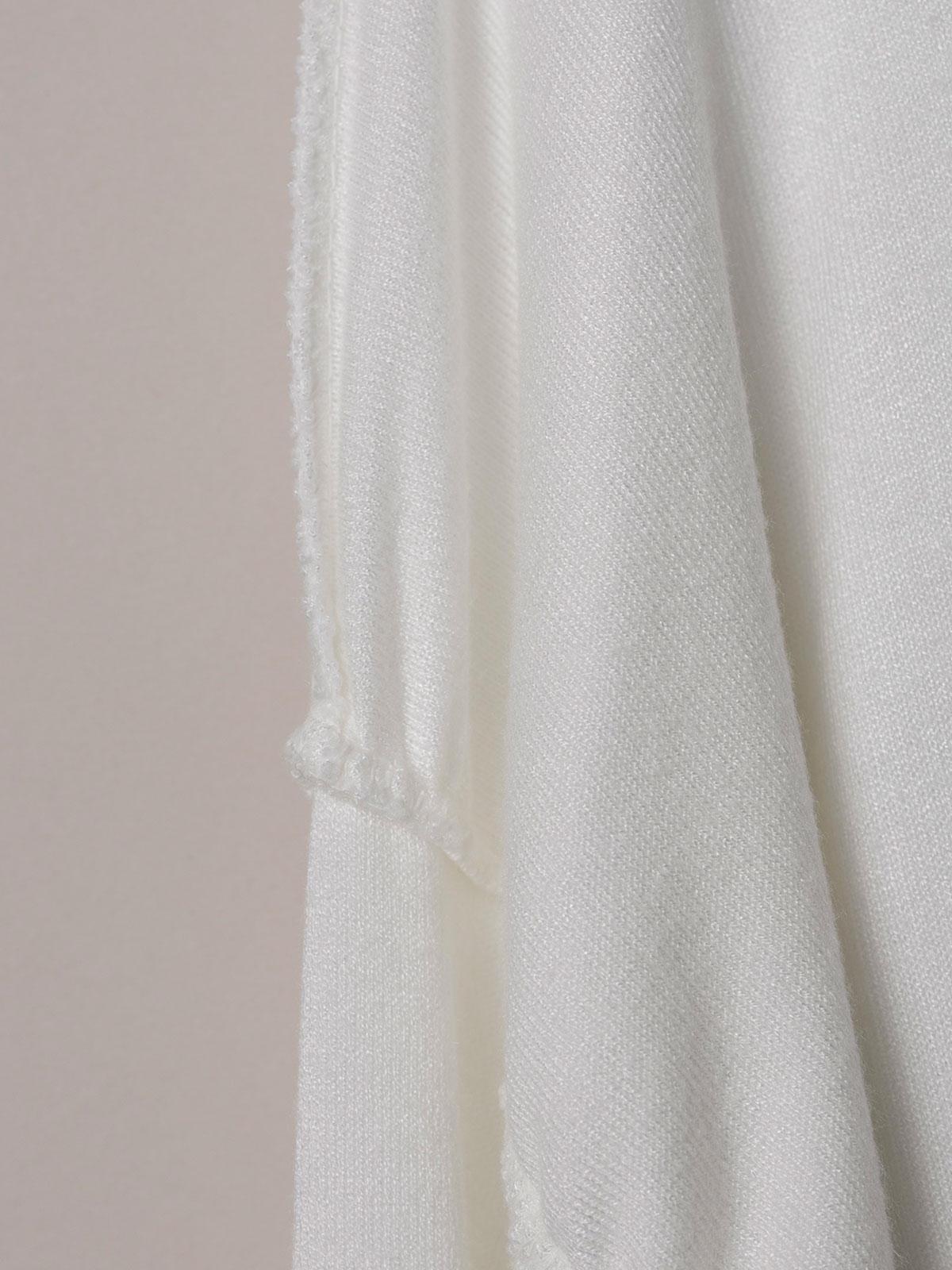 Camiseta mujer punto costuras Blanco