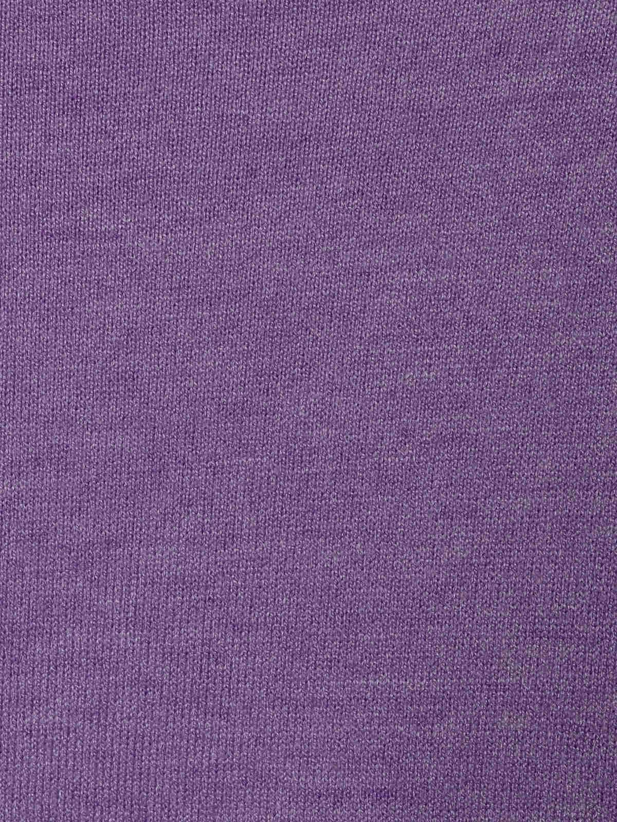 Woman Seam knit T-shirt Lila