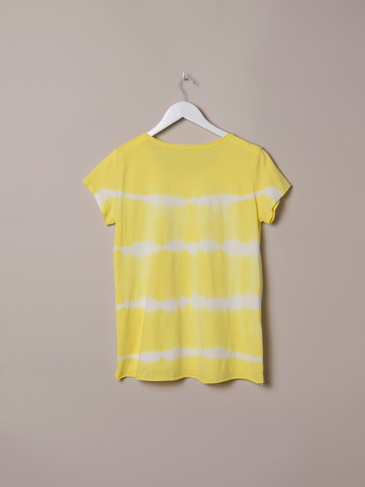 Woman Short sleeve tie & dye T-shirt Amarillo