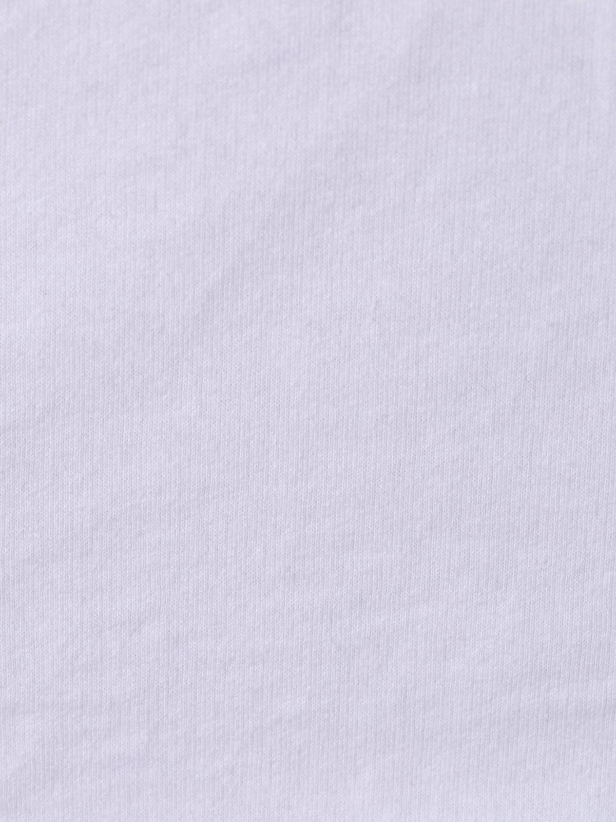 Sudadera mujer oversize raquetas retro Blanco
