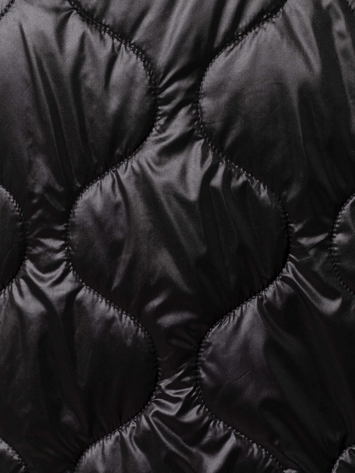 Chaleco mujer acolchado corto Negro