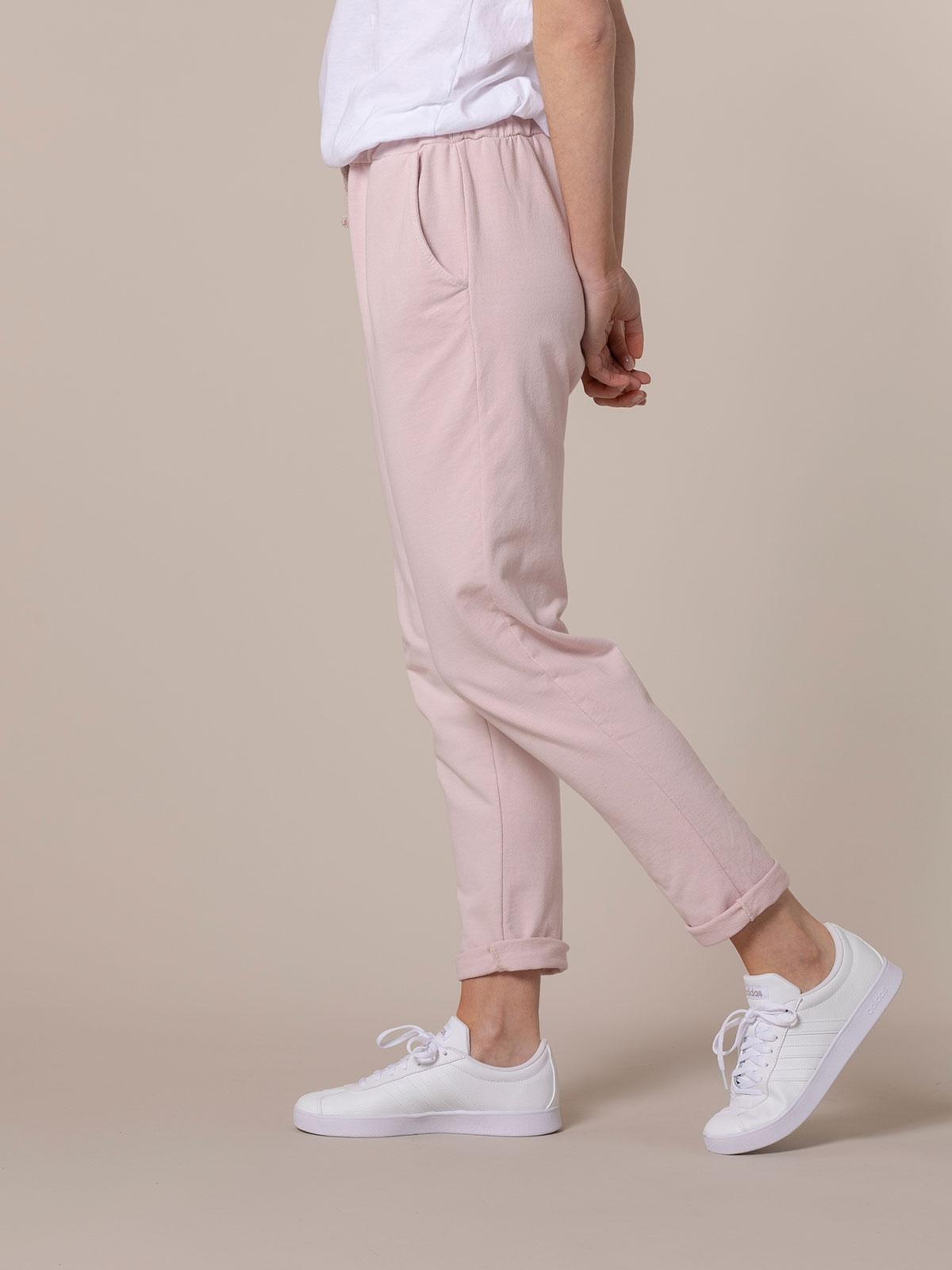 Woman Plush sport trousers Pink