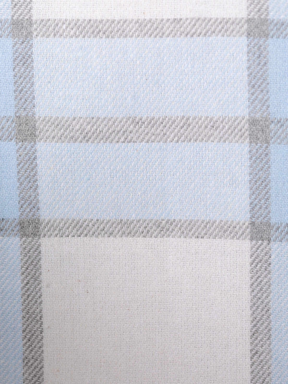 Woman Checked shirt with pocket Blue