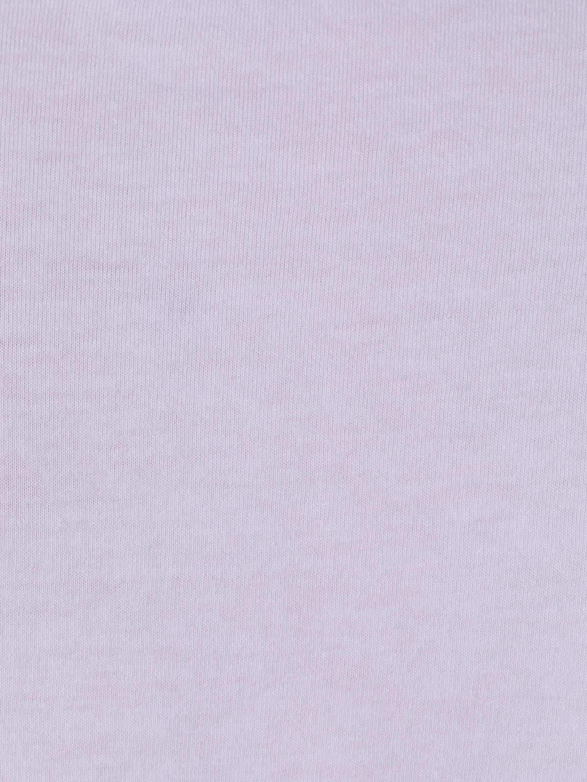 Woman Plain cotton T-shirt White