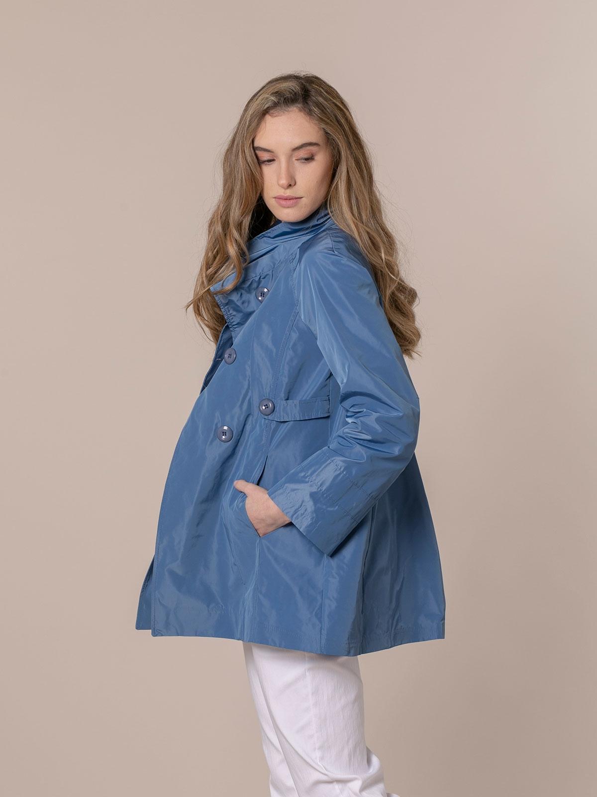 Parka mujer impermeable especial Azul