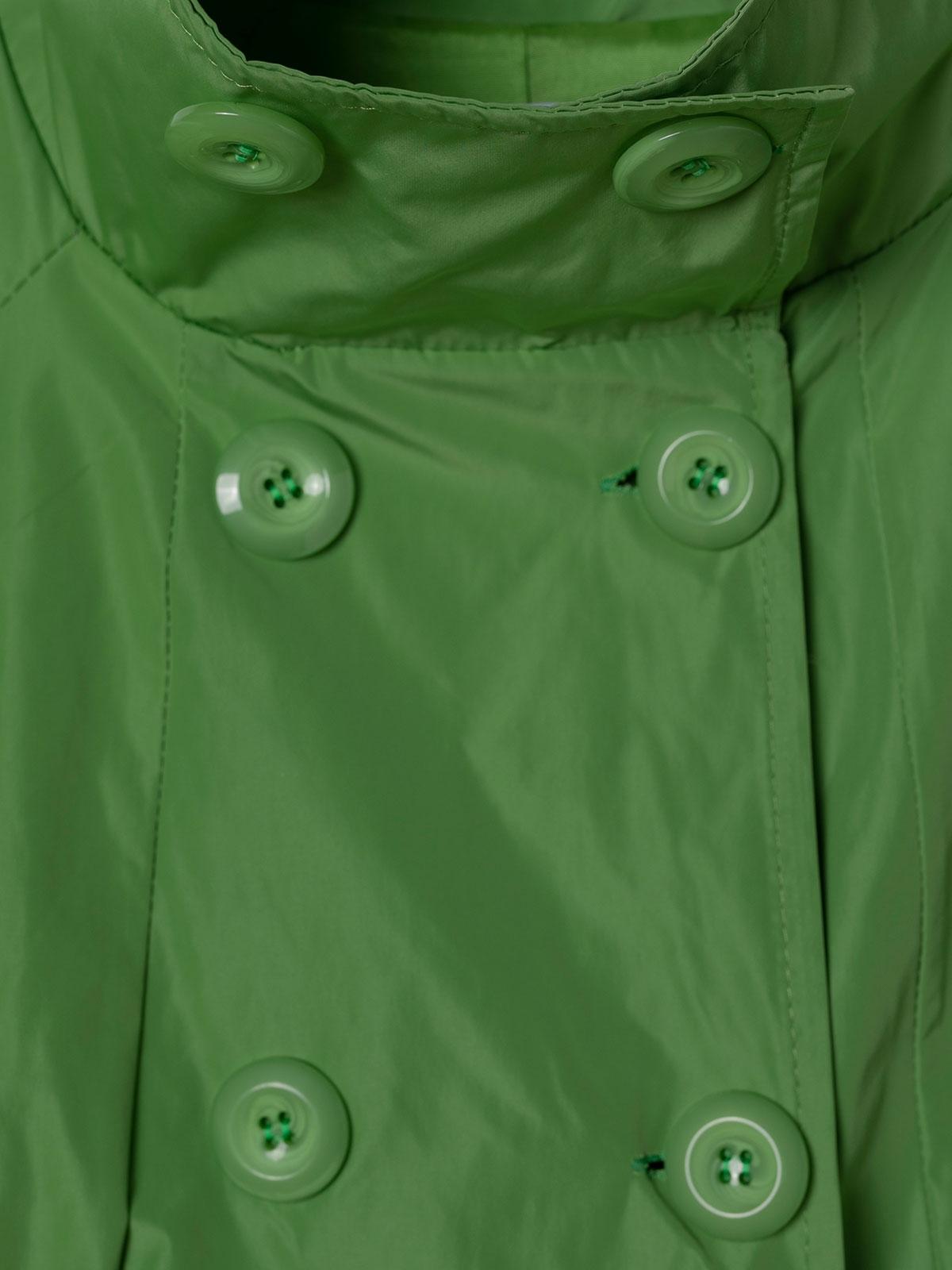 Woman Special waterproof parka Green
