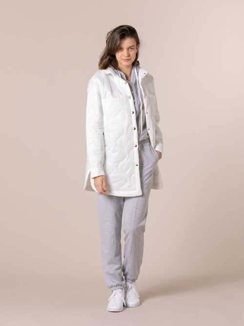 Woman Trendy padded parka White