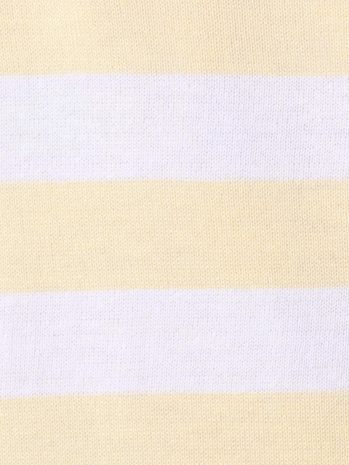Woman Striped sweater Amarillo