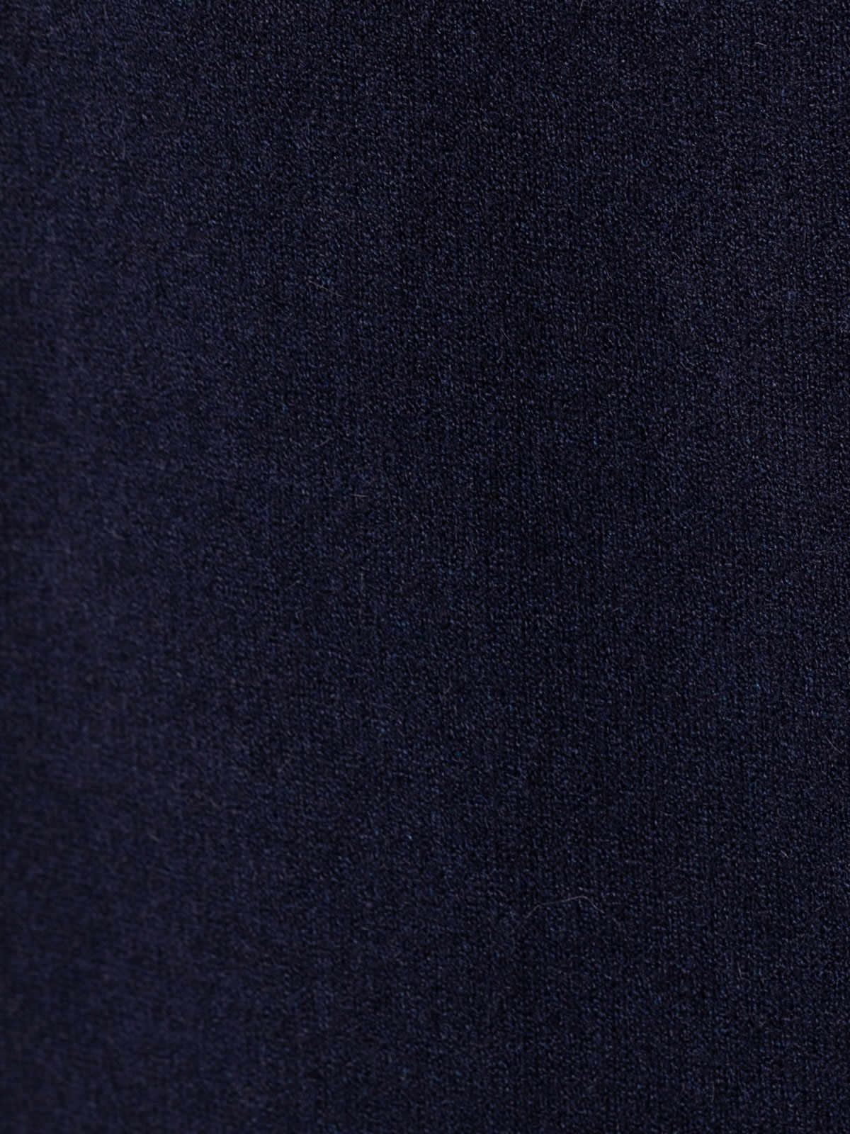 Chaqueta punto mujer larga bolsillos Azul Marino