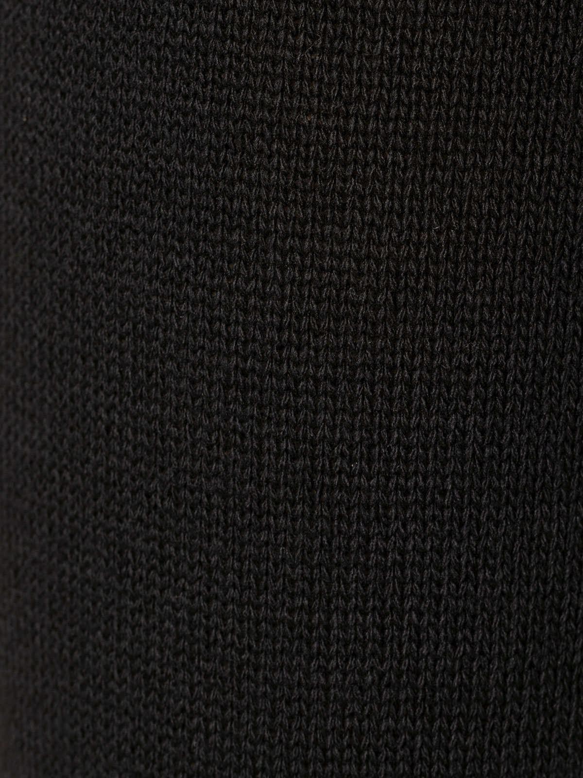 Woman Cotton jersey trousers Black