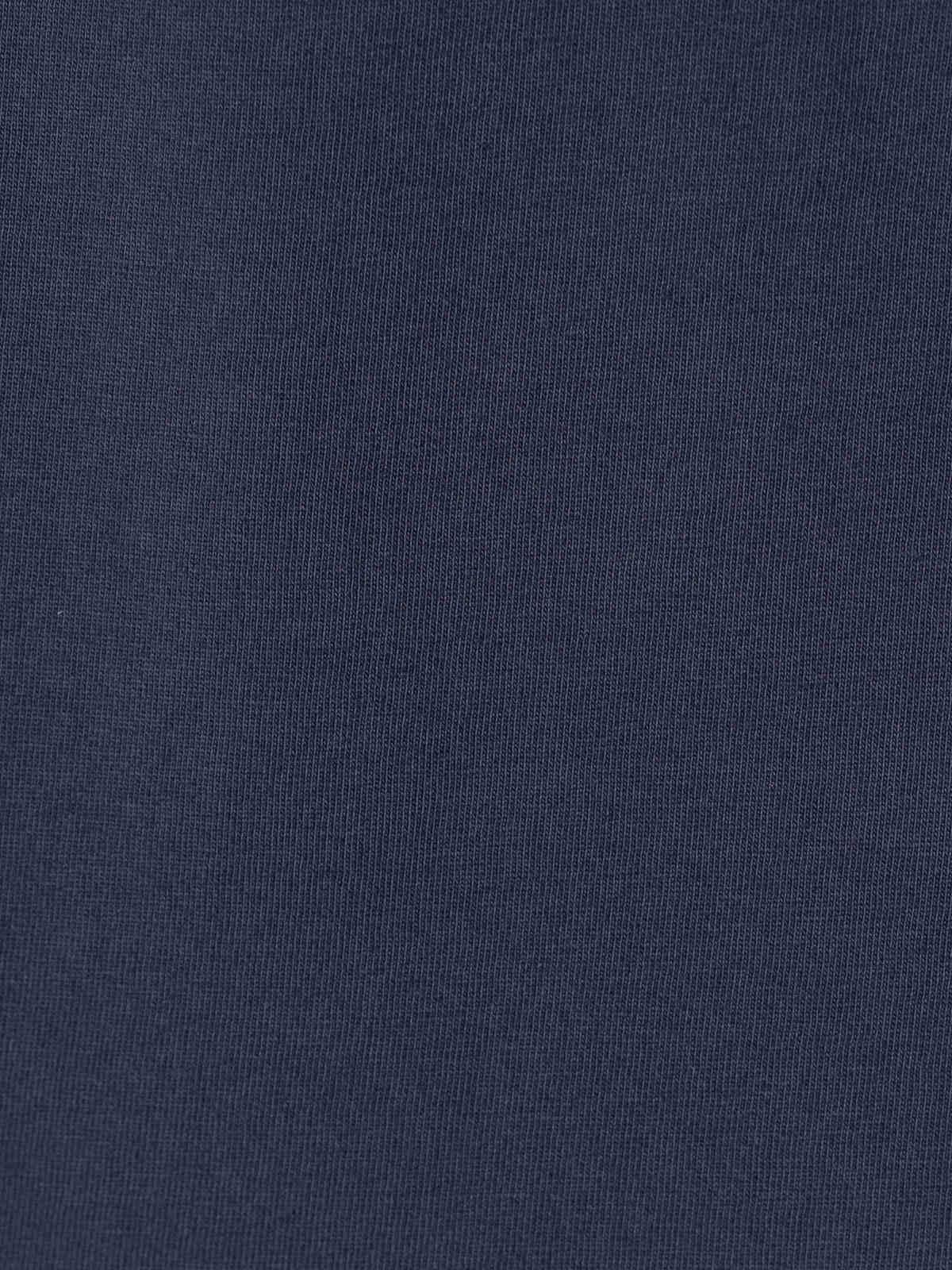 Camiseta mujer lisa algodón Azul Marino
