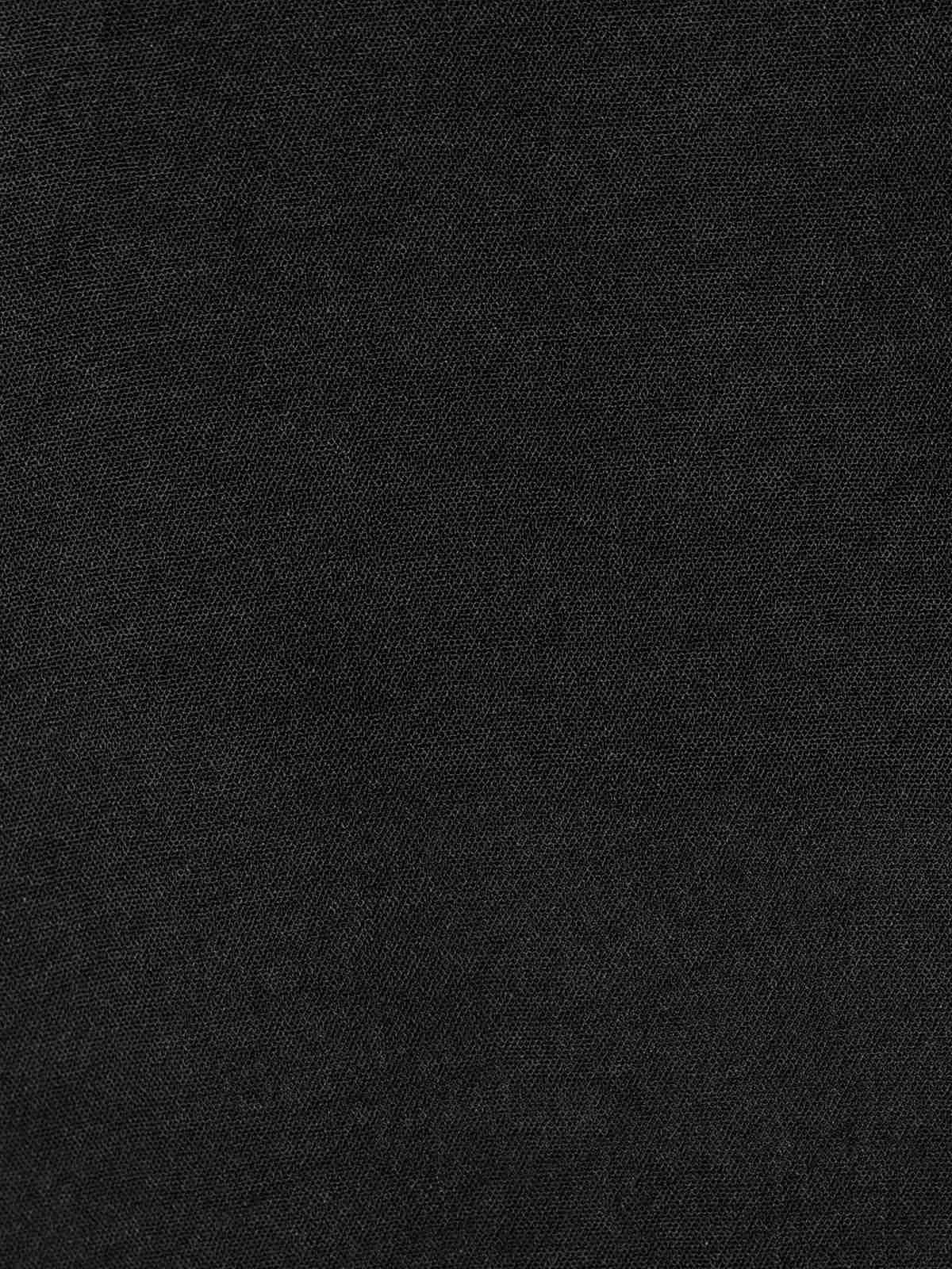 Blusa mujer fluida detalle en bajo Negro