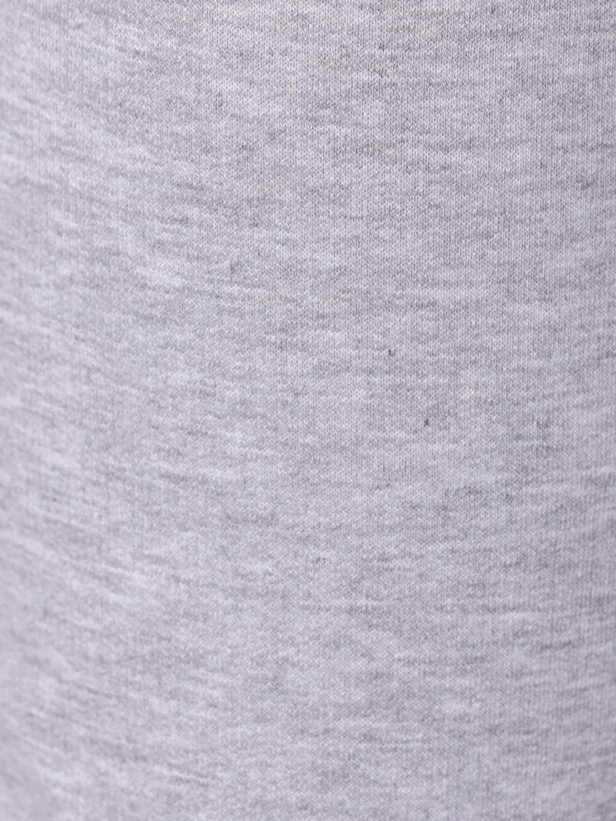 Woman Cotton culotte trousers Grey