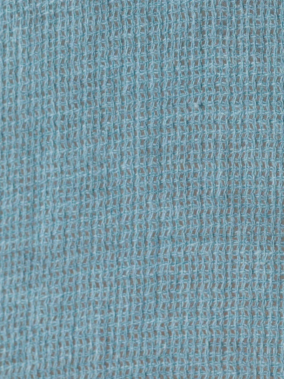 Polo mujer algodón y detalle en lino Azul