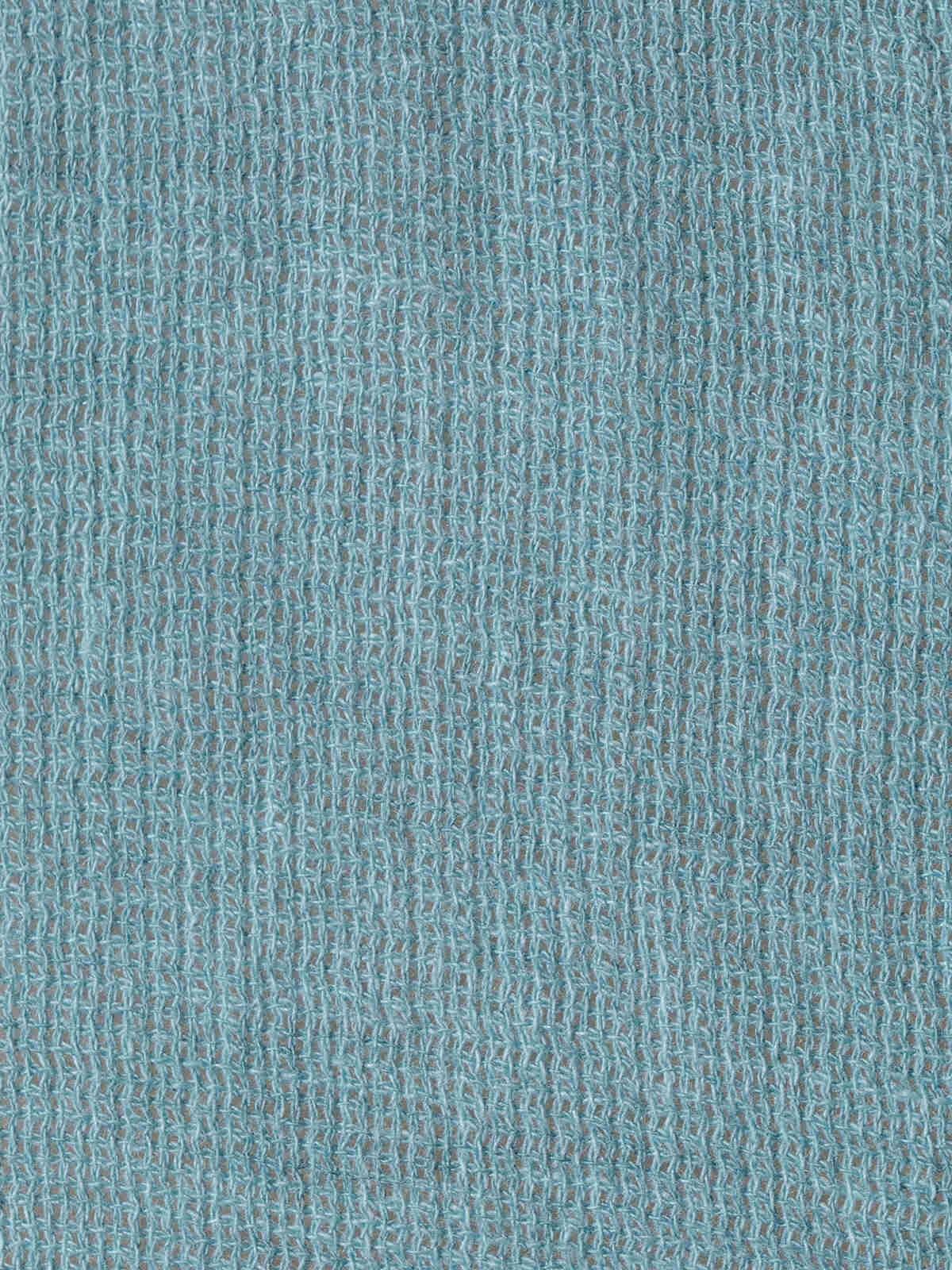 Blusa mujer volante fruncido ecowash azul oscuro