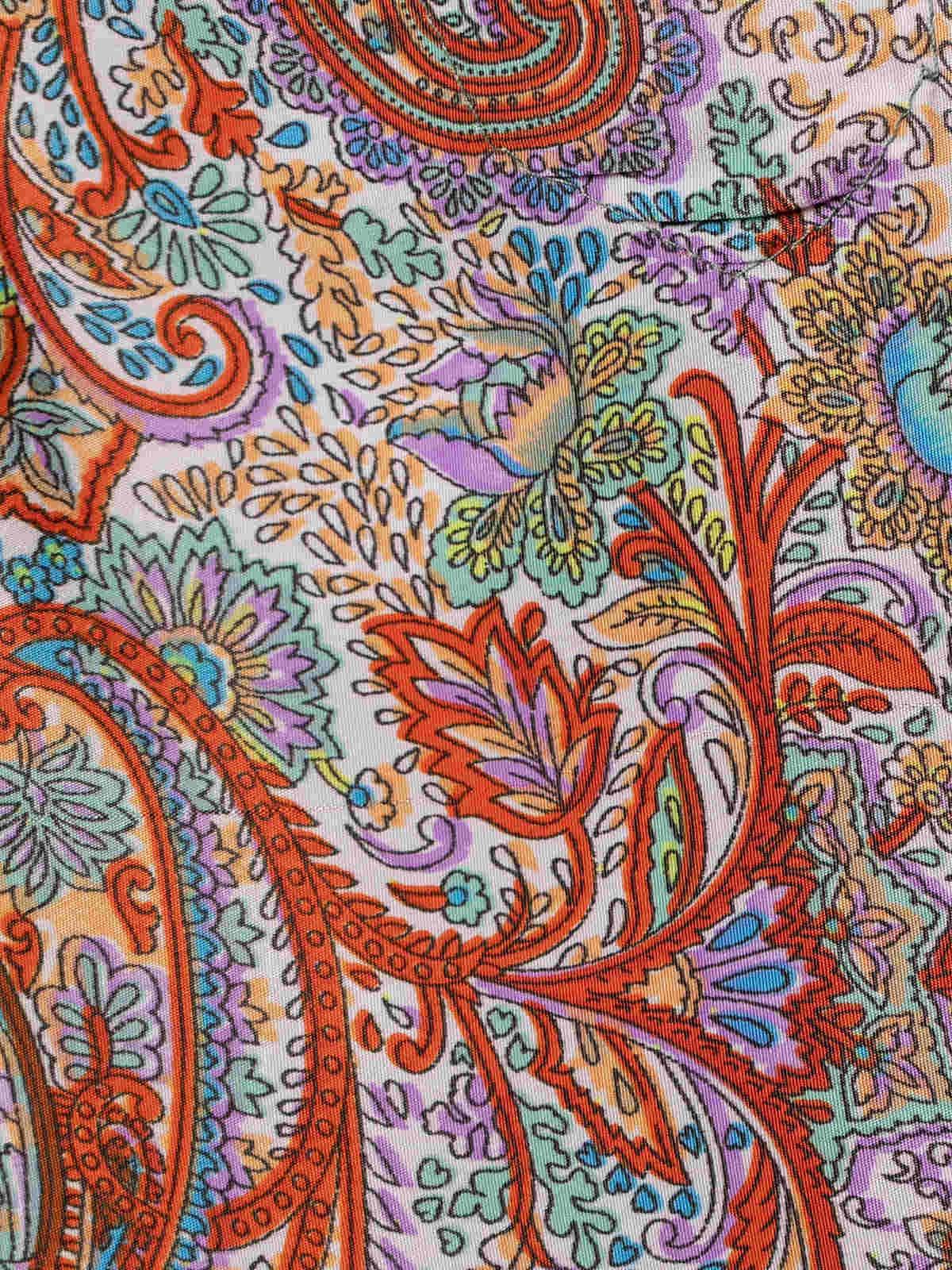 Vestido largo fluido Multicolor