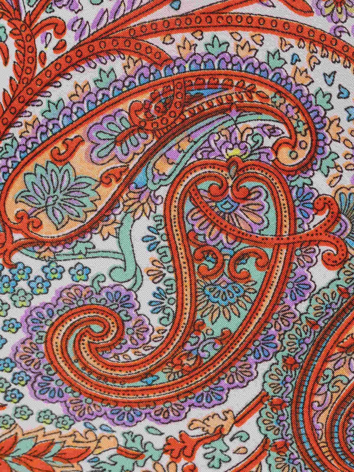 Woman Strappy print top Multicolor