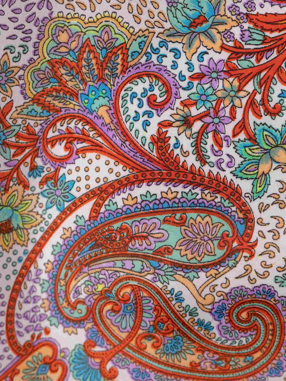 Blusa mujer fluida estampada Multicolor