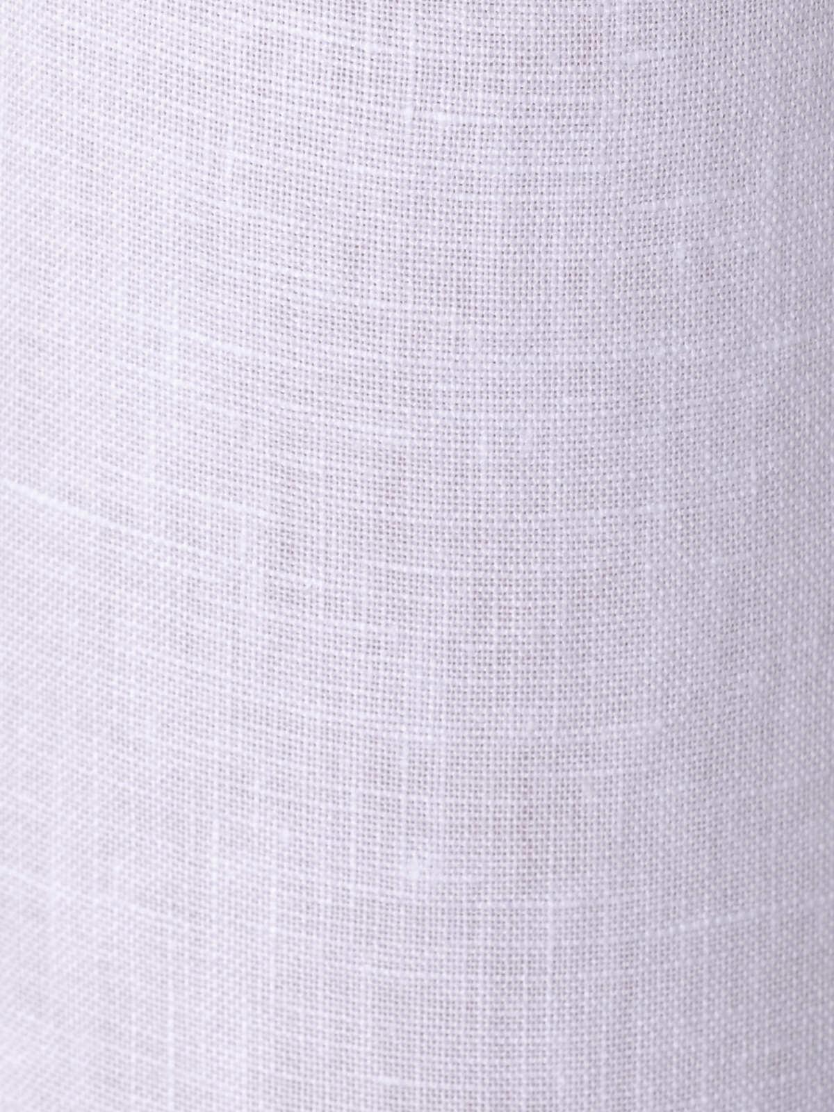 Patalón lino 100% Blanco