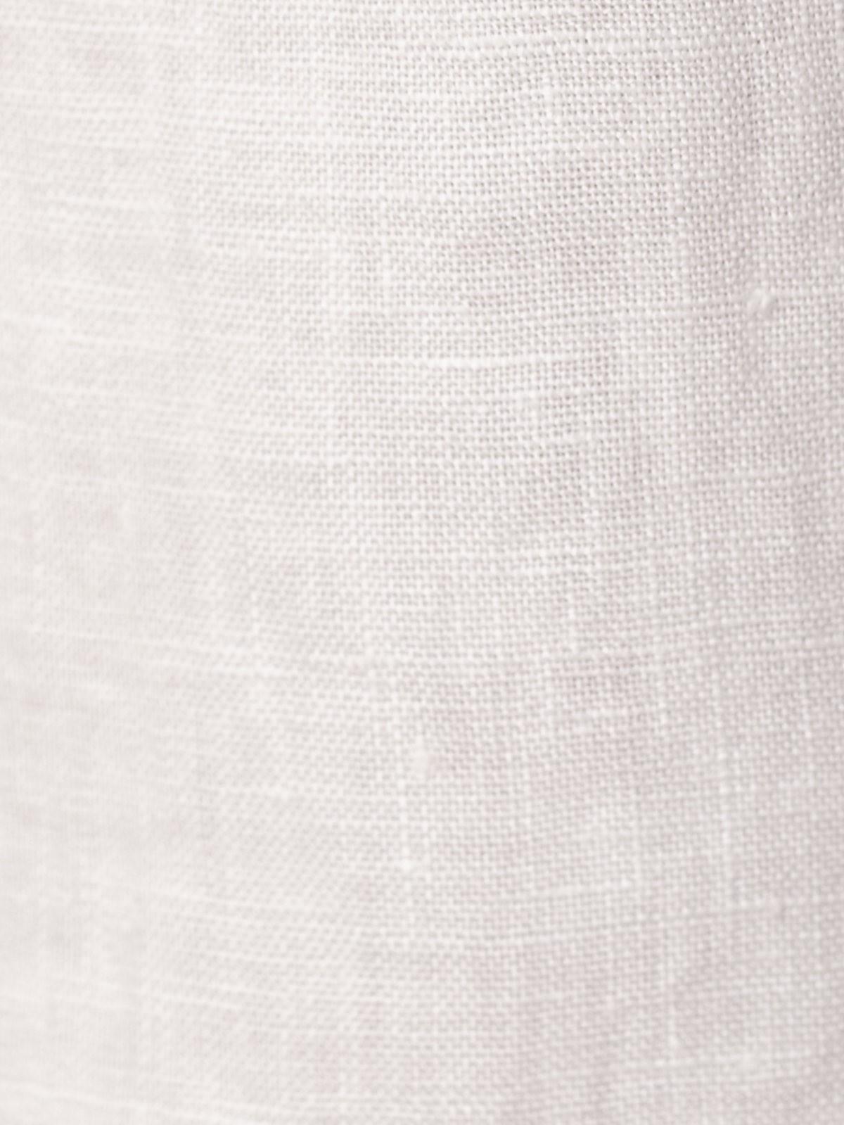 Woman Woman 100% linen bermuda Marfil