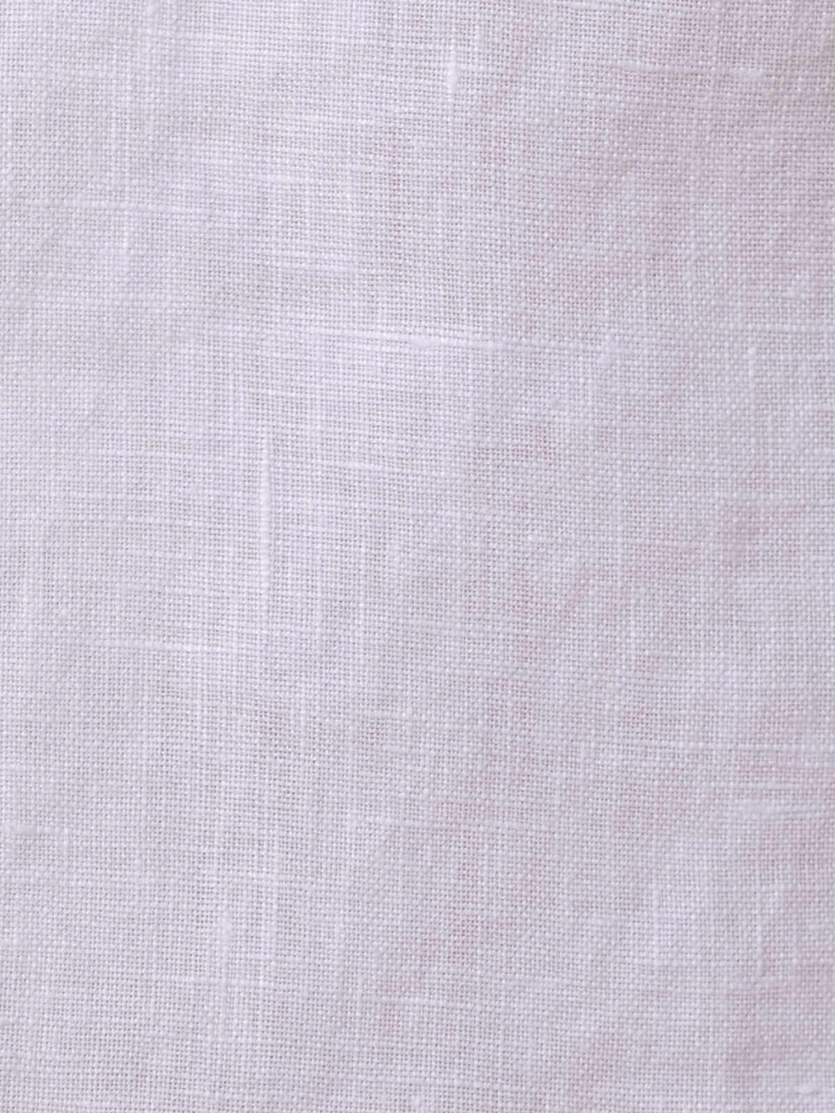 Bermuda lino 100% Blanco