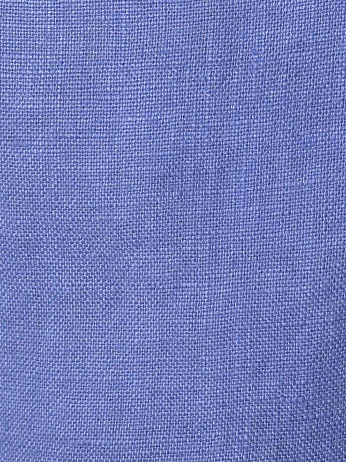 Bermuda mujer lino 100% Azul
