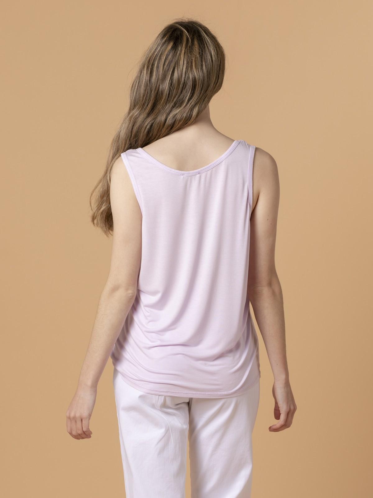 Woman Woman Wide-leg t-shirt Lila