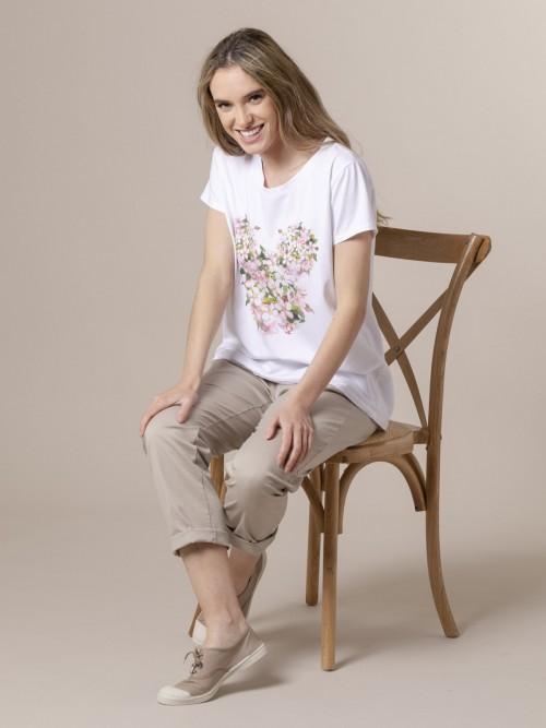 Woman Woman Digital printed t-shirt Pink