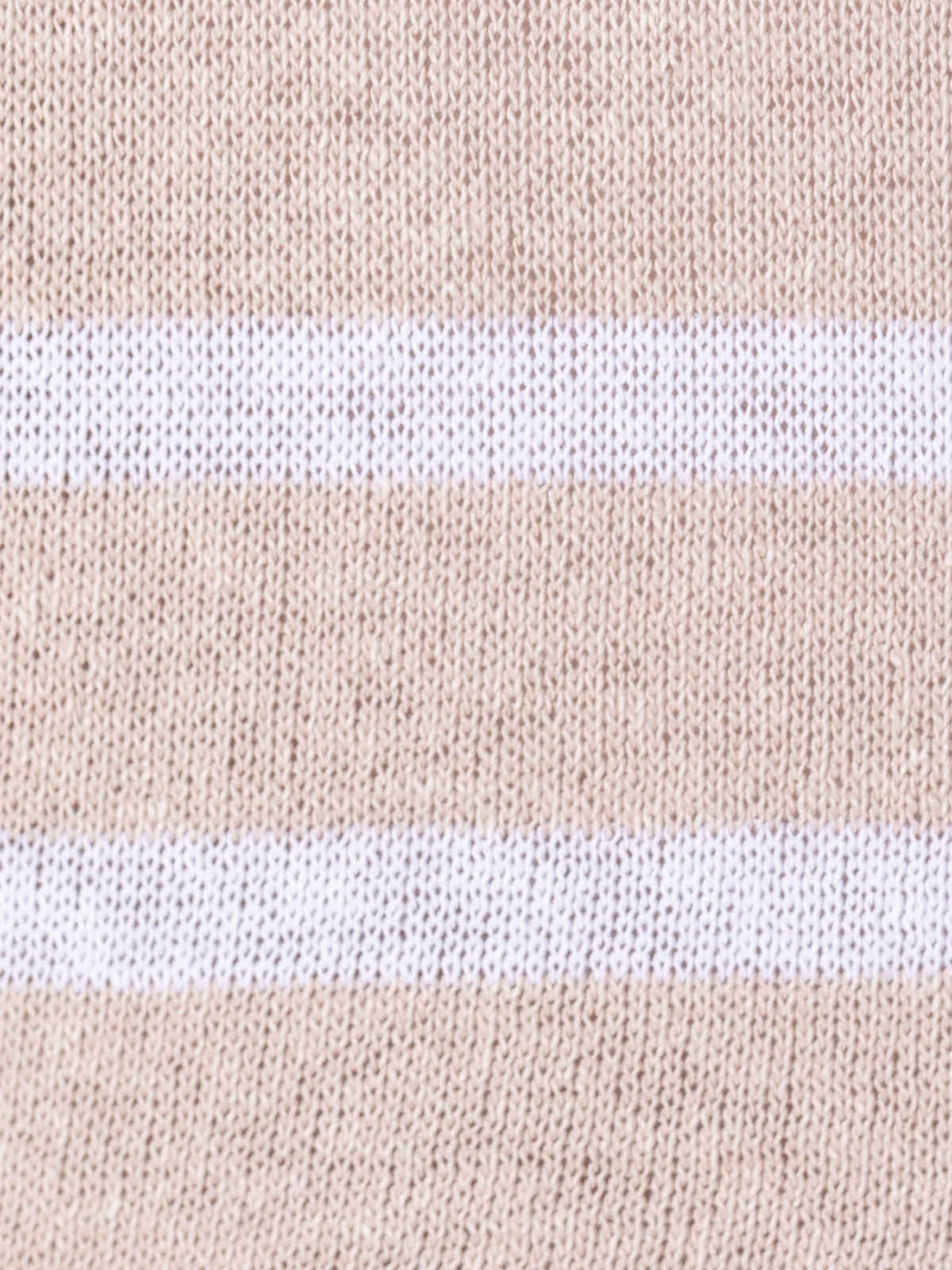 Woman Striped cotton sweater Pink