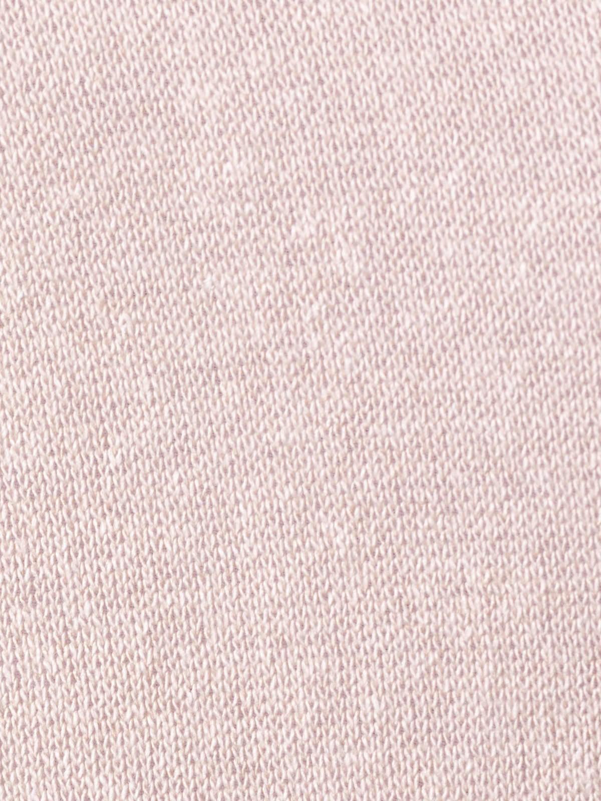 Chaqueta punto de mujer algodón Rosa