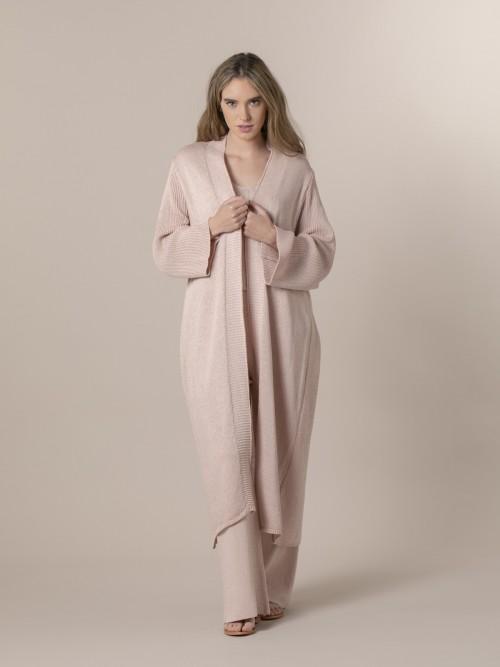 Woman Woman Cardigan coat Pink