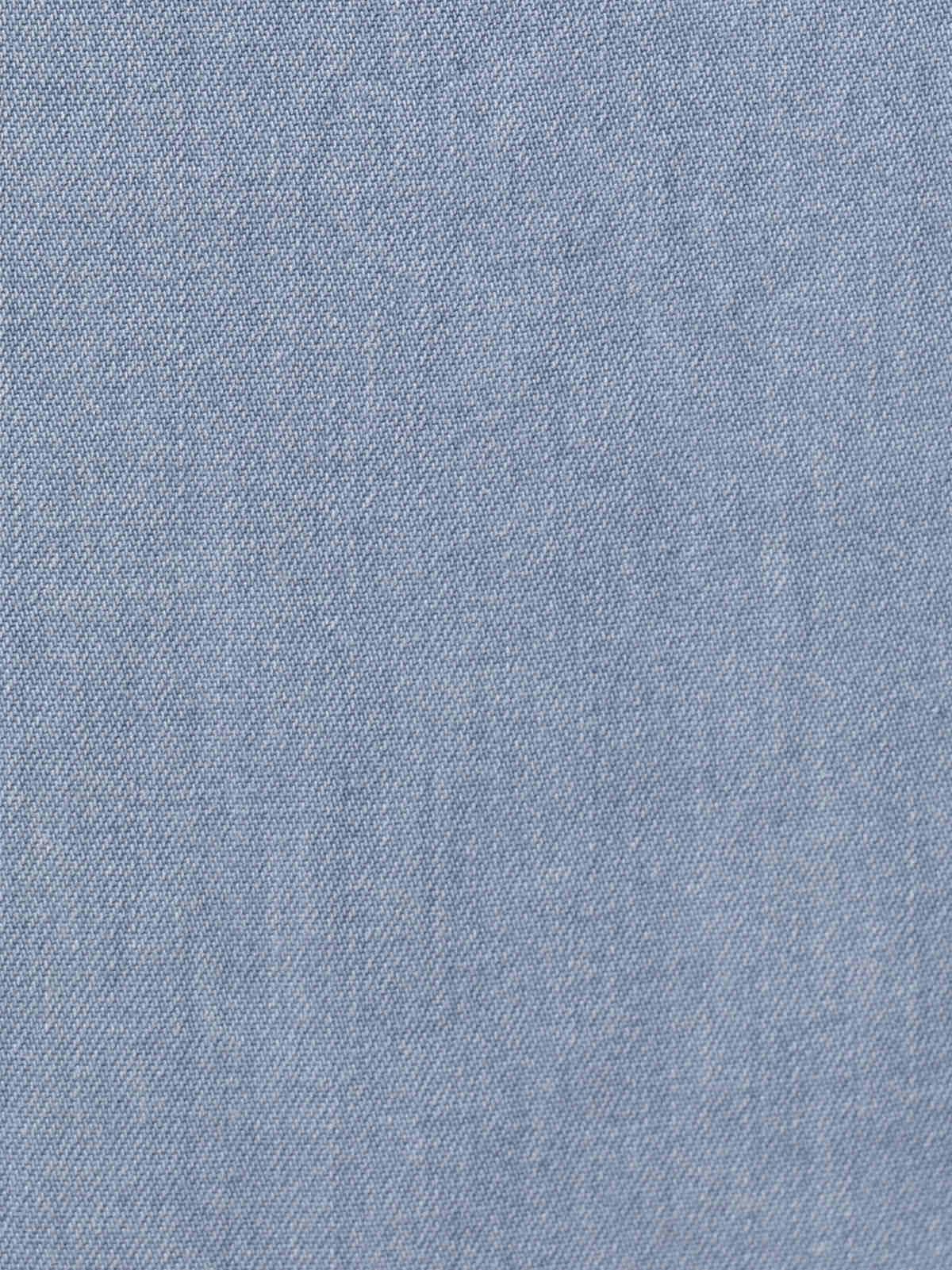 Falda fluida tencel Azul Jean