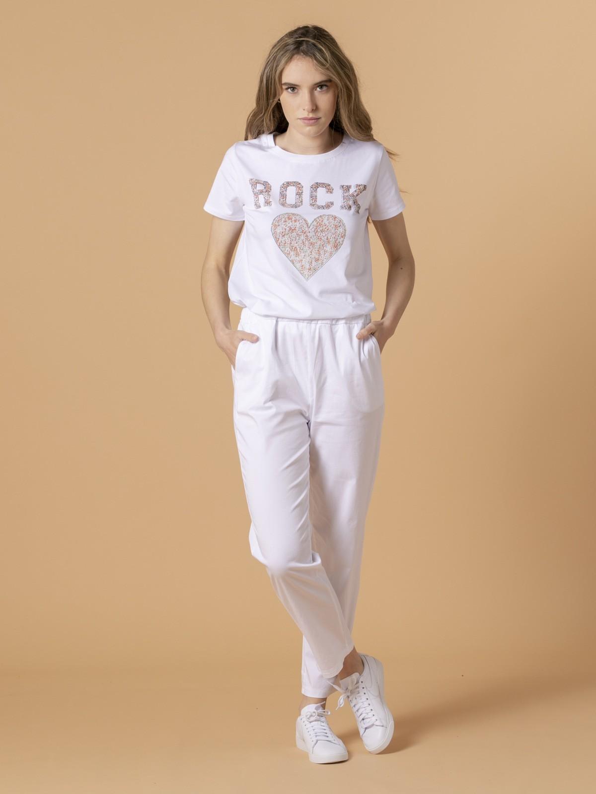 Woman Woman Light sport trousers White