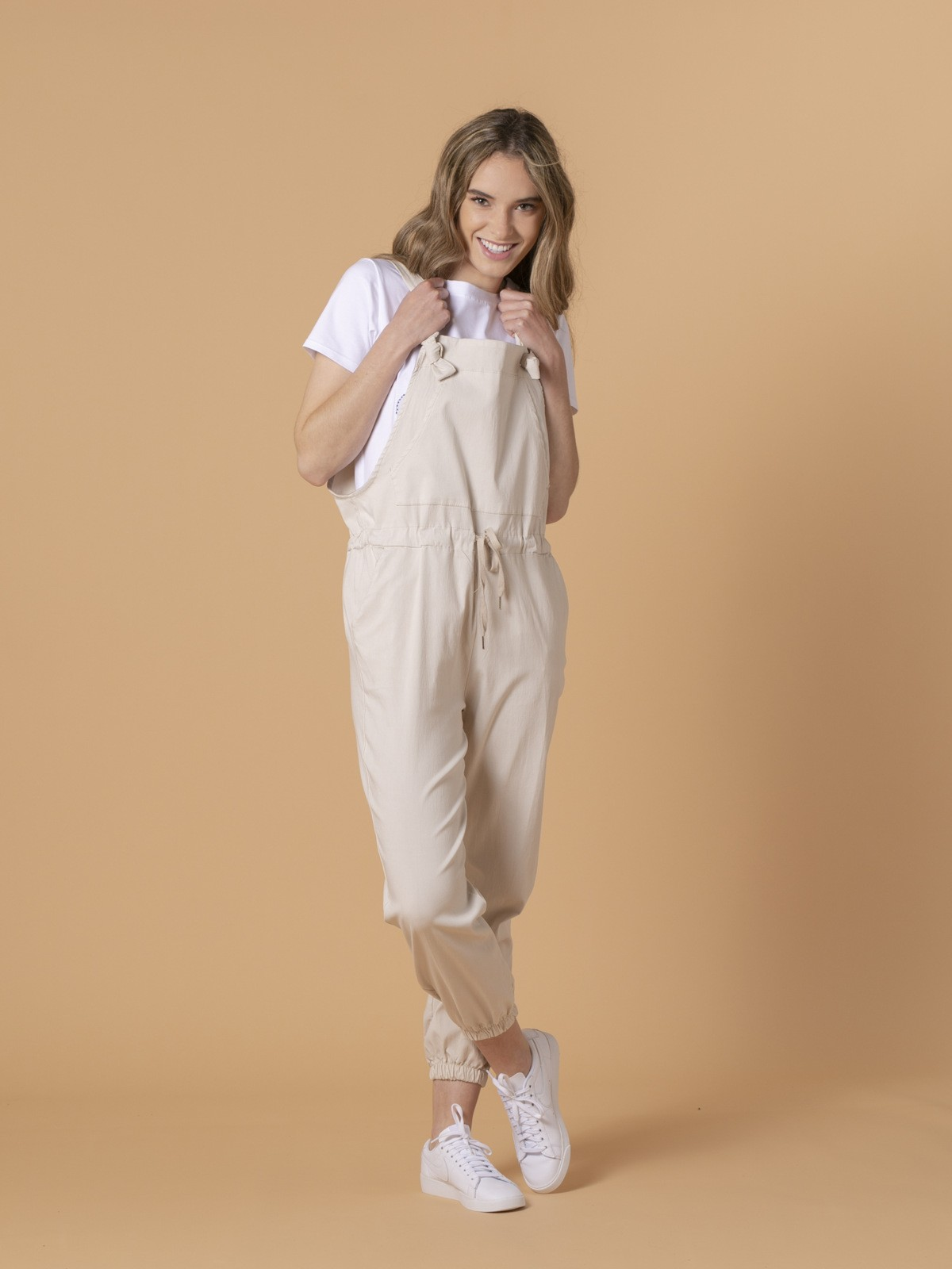 Woman Woman Paris jumpsuit Beige