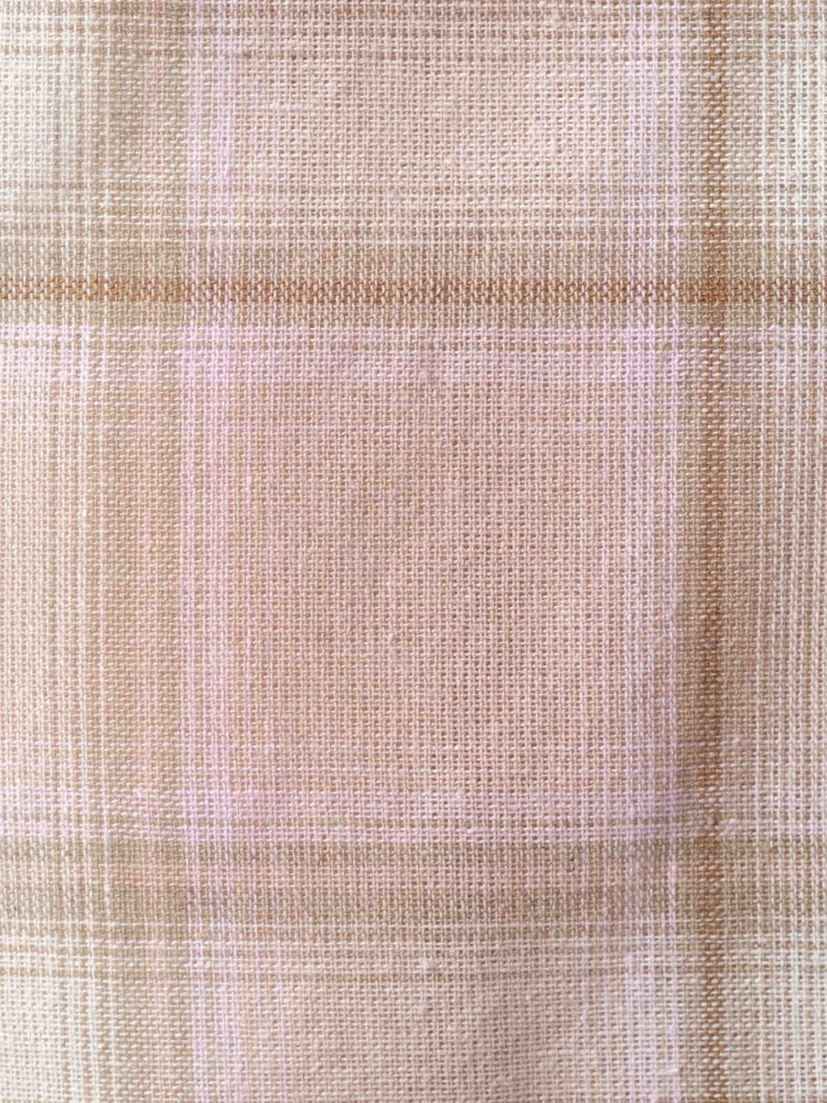 Camisa mujer cuadros bicolor Rosa