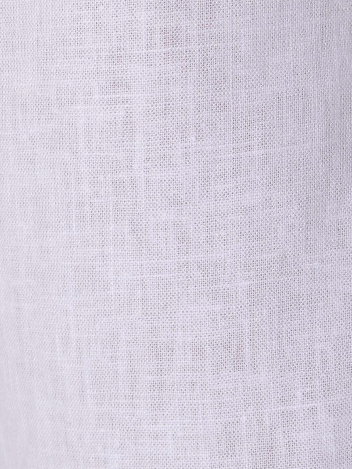 Pantalón de lino mujer oversize Blanco