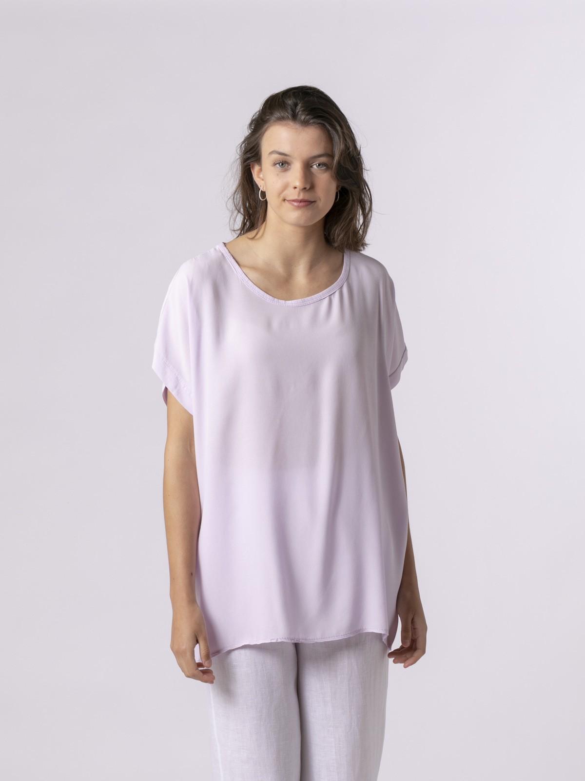 Woman Woman Short sleeve blouse Lila