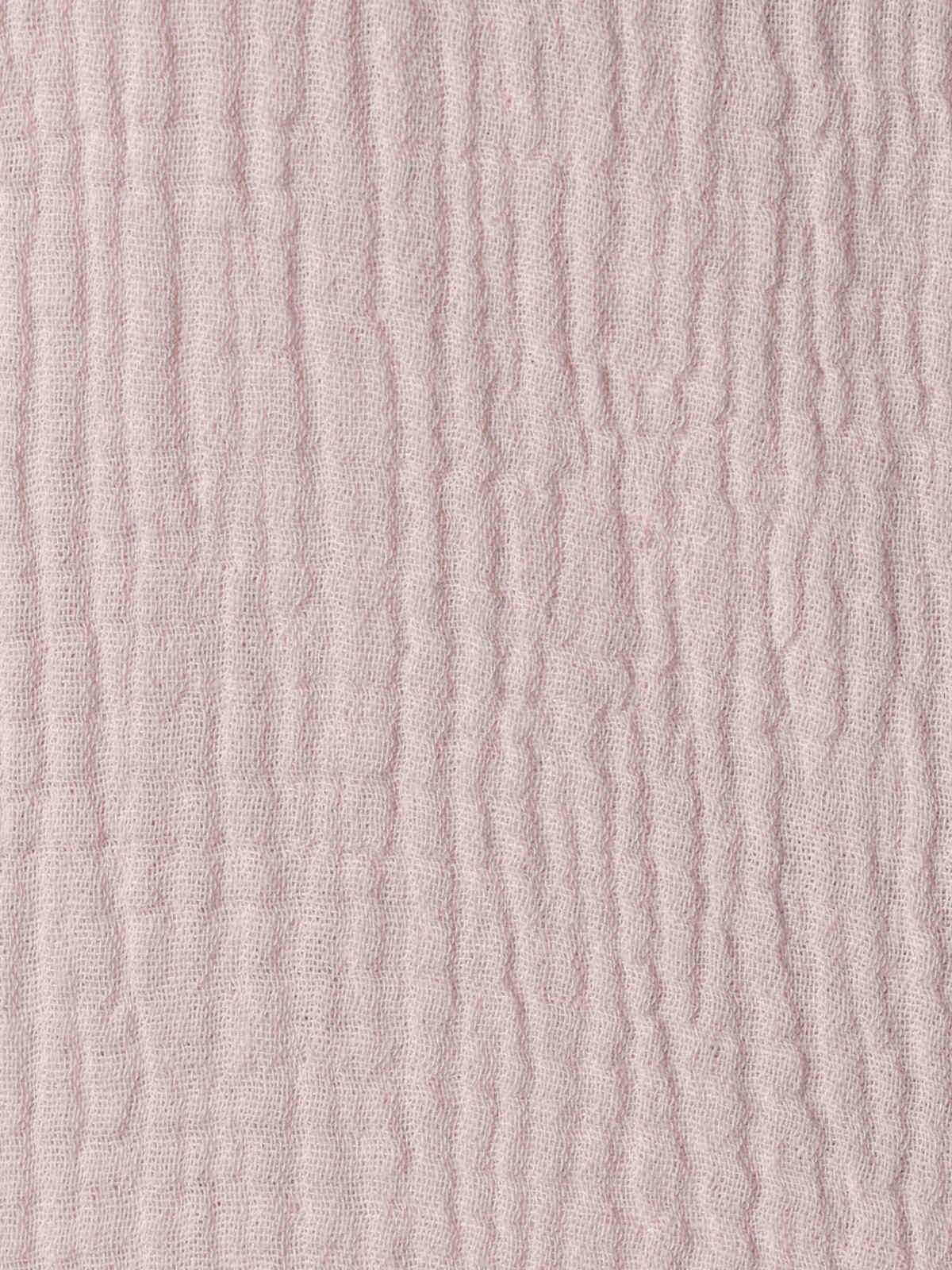 Top de algodón arrugado Rosa