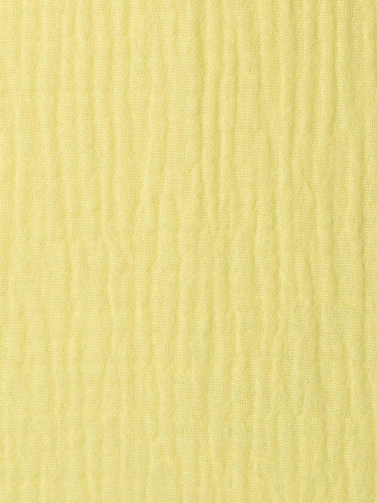 Top de algodón arrugado Amarillo