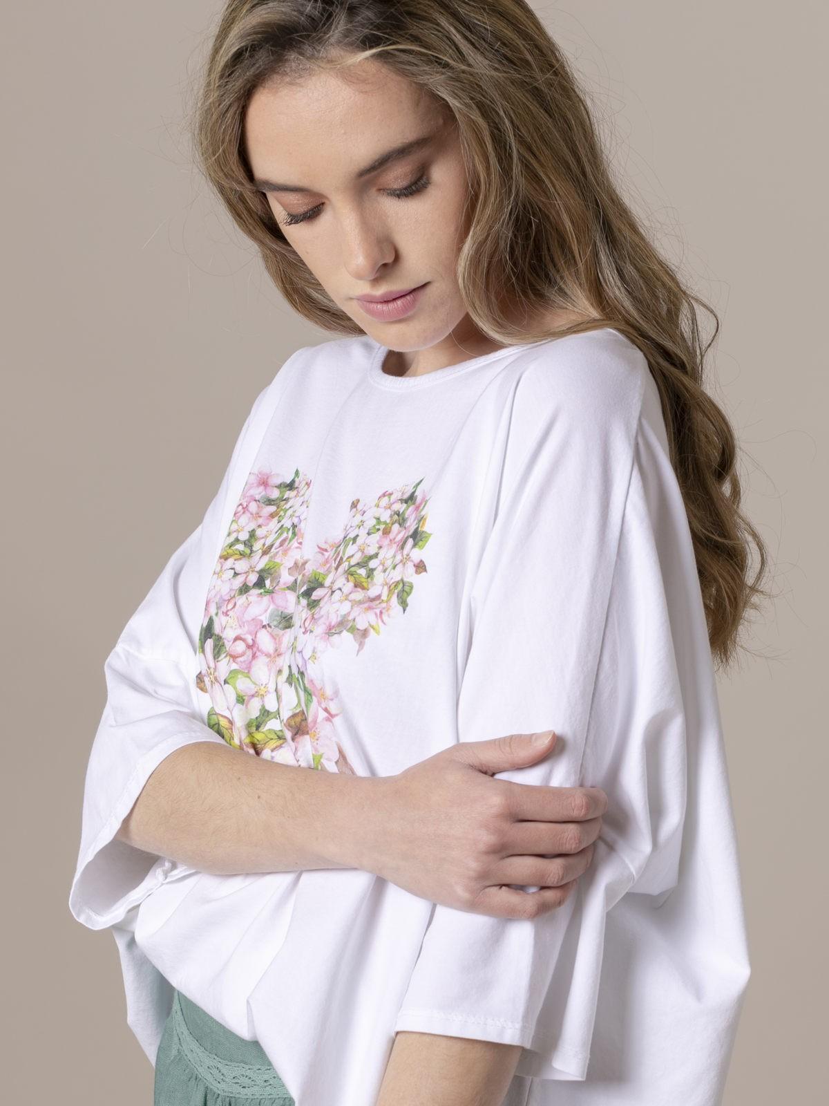 Woman Woman Oversized printed T-shirt Pink